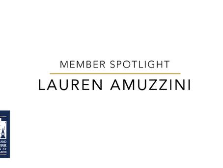 Member Spotlight: Lauren Amuzzini