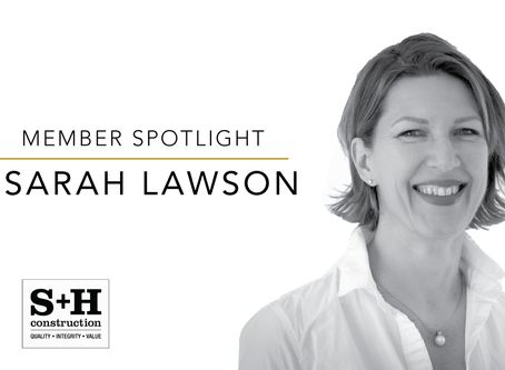 Member Spotlight: Sarah Lawson