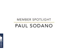 Member Spotlight: Paul Sodano