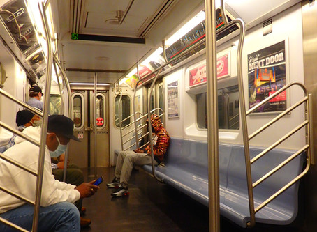 約3ヶ月ぶりに地下鉄に乗りました(1)