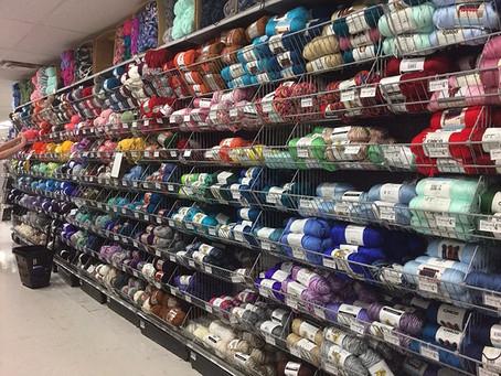 材料を求めてお買い物に行きました。