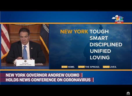 NY州知事クオモ氏に力をもらってるニューヨーカー達