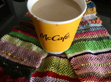 Happy Eater Sunday!今朝コーヒーを買いに行った。