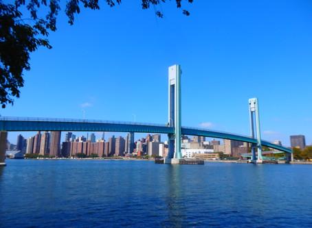 East Riverに浮かぶ小さな島 Randall's Island.
