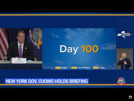 待ちに待った今日、NYCもreopenする事が出来ました!