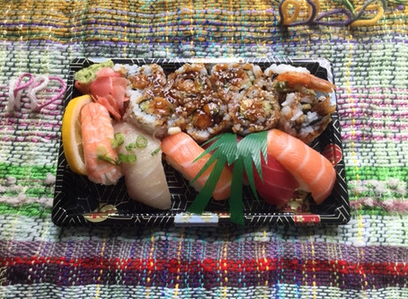 念願のお寿司、食べることが出来ました!