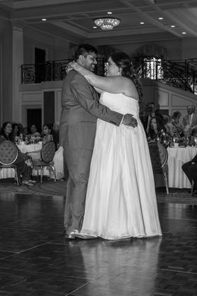 dancing bride and groom Prestonwood CC