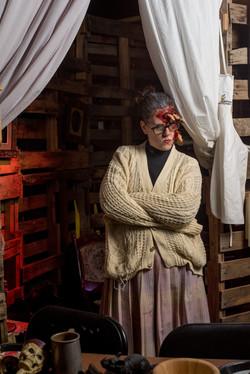 20161031 Haunted Calgary - Lit Location Portrait AO 0087