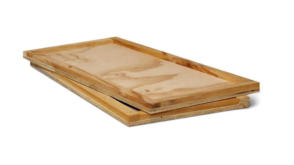 Plywood NUC Hive Mat - Assembled