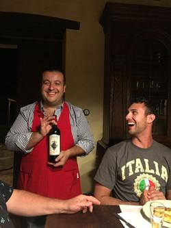 our chef in Cortona