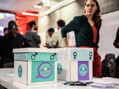 Agora dans Het Nieuwsblad et sur Bruzz: a la recherche de 500 signatures.
