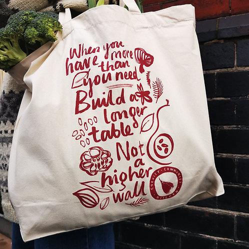 A Coexist Community Kitchen maxi tote bag