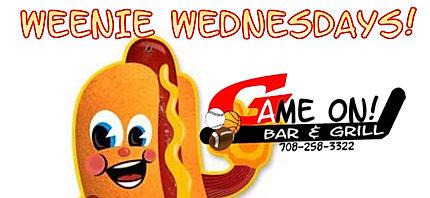 Weenie Wednesday special