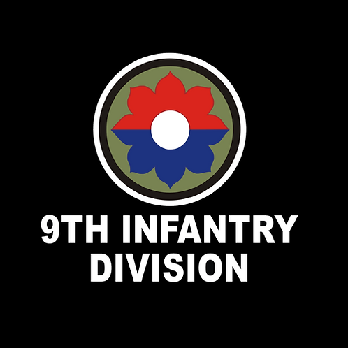 9th Infantry Division Insignia - Wording (A42)