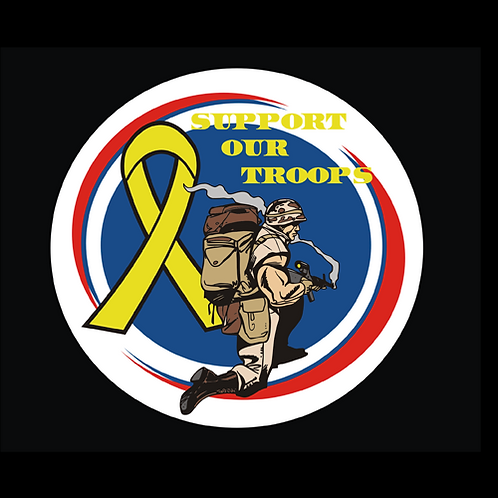 Support Our Troops - Circle (MIL8)