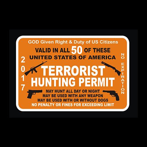 Terrorist Hunting Permit (G164)