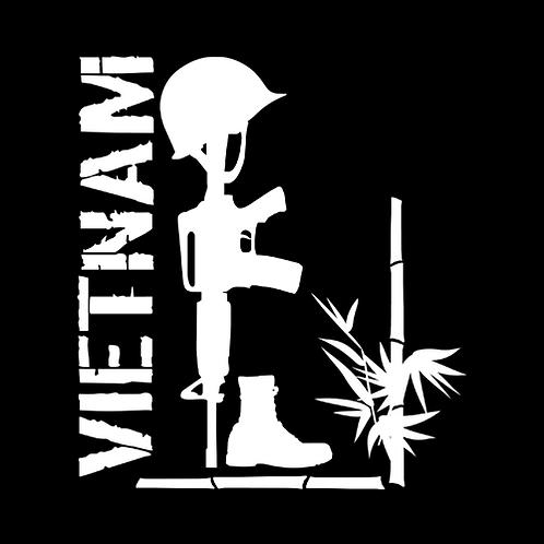 Vietnam Fallen Soldier - Bamboo (V5)