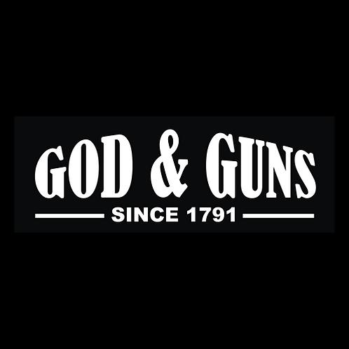 God & Guns Since 1791 (G213)