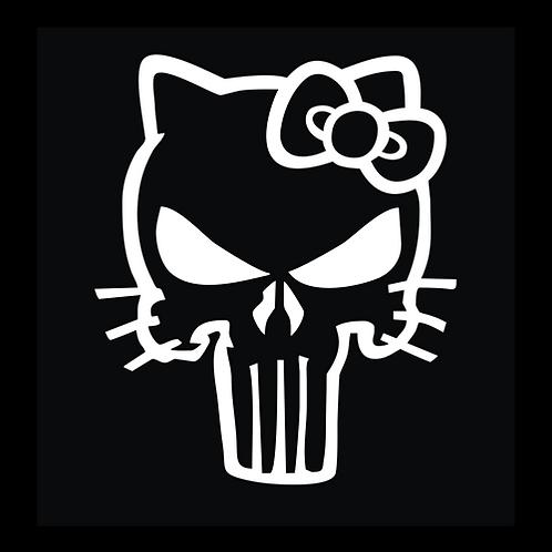 White Punisher Kitty (SK16)