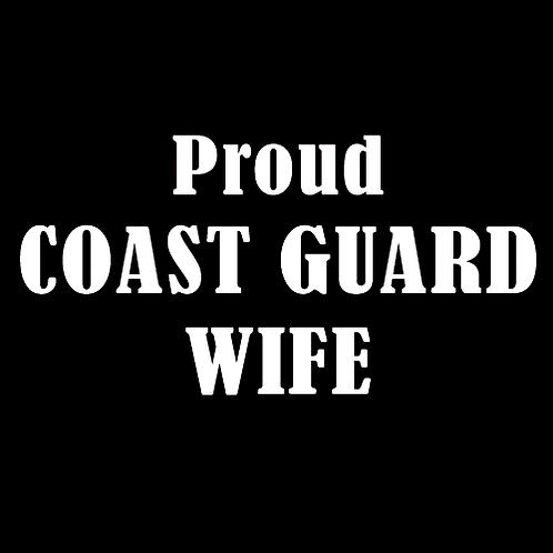 Proud Coast Guard Wife (CG1)