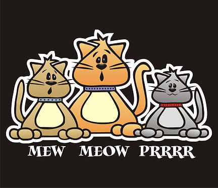 Mew Meow Prrr - Colored (PC6)