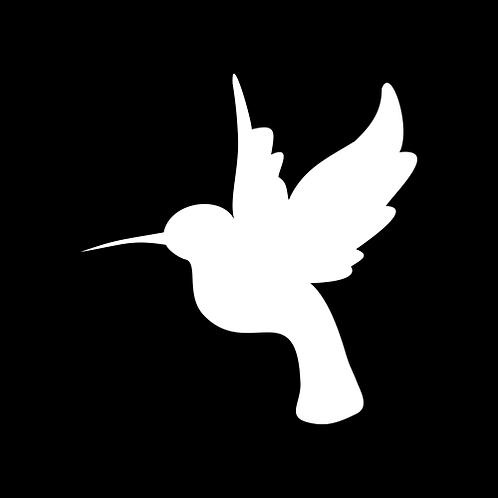 Hummingbird Silhouette - Left (PBI3)