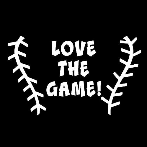 Love The Game - Baseball Stitching (BB15)