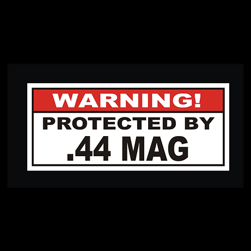 Protected By .44 MAG (G230)