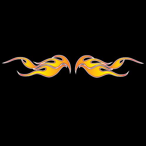 Orange Flames (FL15)