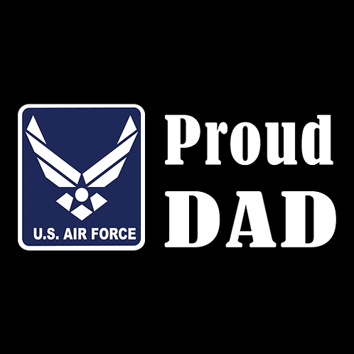 Proud Air Force Dad - Logo (AF18)