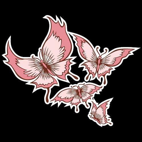 Pink Butterflies (L18)