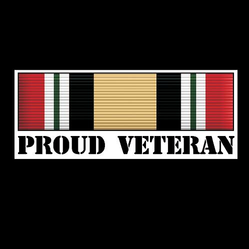 Proud Iraq Veteran Ribbon (MIL11)