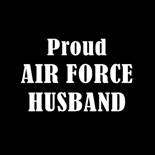 Proud Air Force Husband (AF4)
