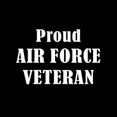 Proud Air Force Veteran (AF5)