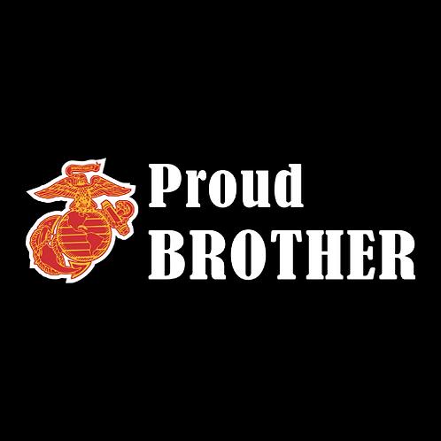 Proud Marine Brother - Logo (M21)