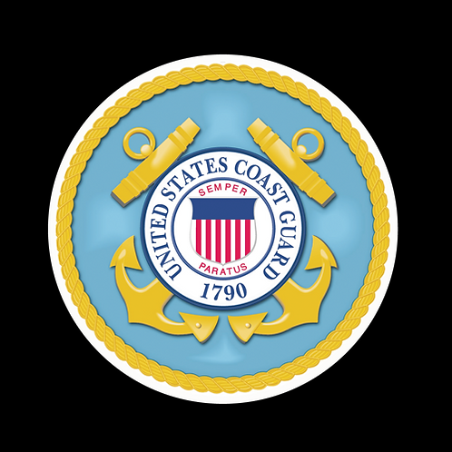 U.S. Coast Guard Seal 1790 (CG8)