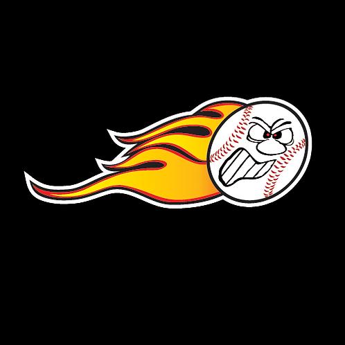 Flaming Baseball (BB5)