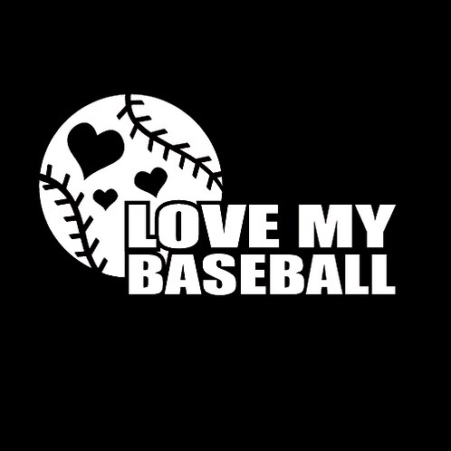 Love My Baseball With Hearts (BB20)