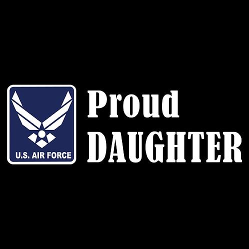 Proud Air Force Daughter - Logo (AF26)