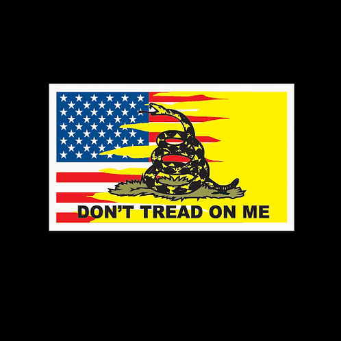 Don't Tread On Me - Dual Flag (MIL45)