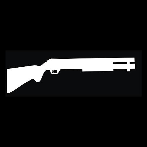 Pump Shotgun Silhouette (G321)