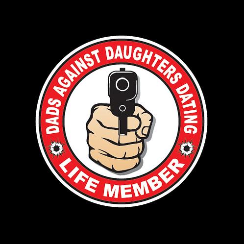 D.A.D.D. Life Member - Circle (G187)