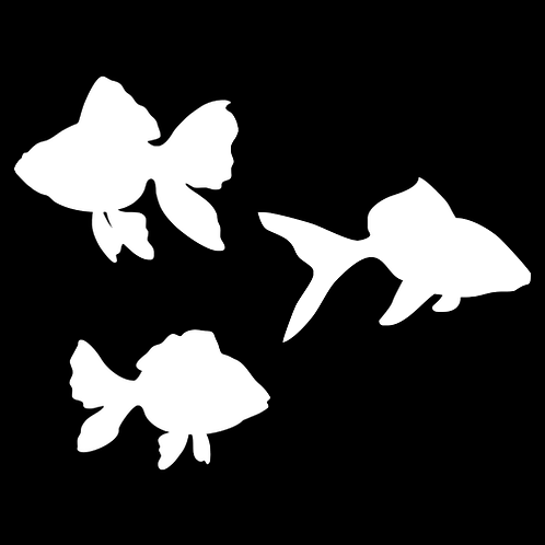 Set Of Goldfish Silhouettes (PAF5)