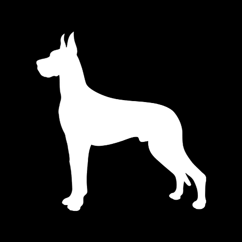 Great Dane Silhouette 2 (PD18)