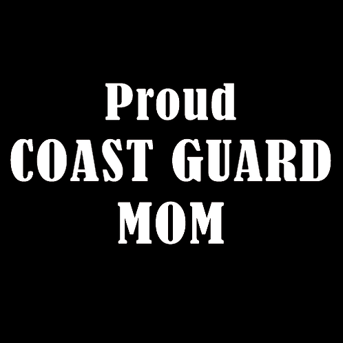 Proud Coast Guard Mom (CG2)