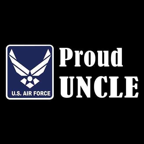 Proud Air Force Uncle - Logo (AF24)