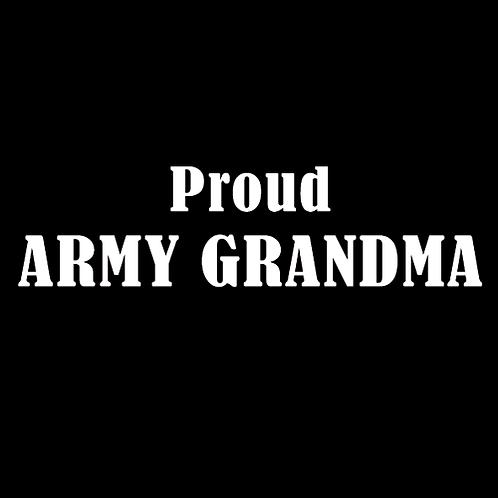 Proud Army Grandma (A17)