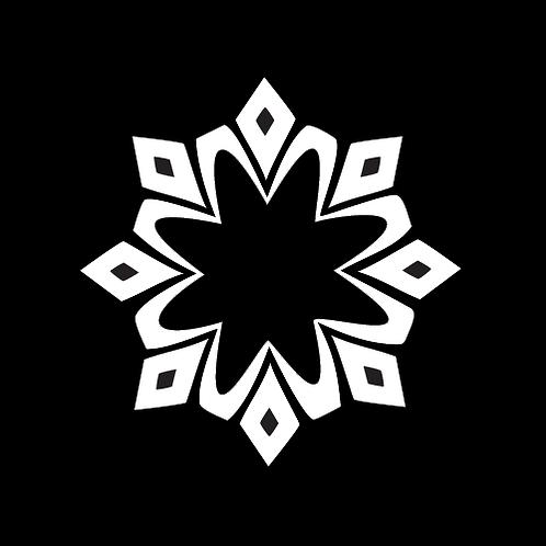Tribal Style Snowflake (FL12)