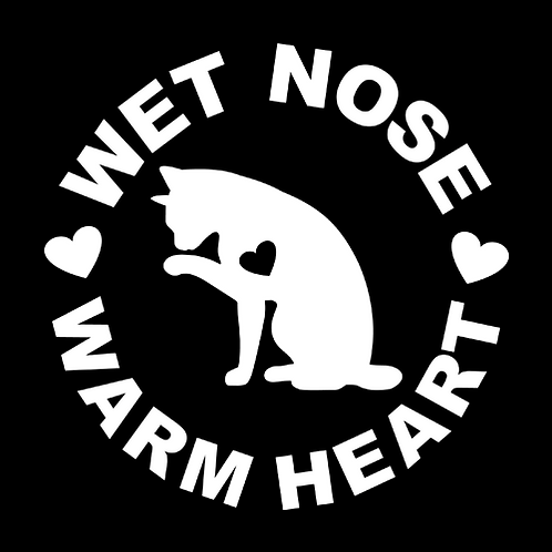 Cat Wet Nose Warm Heart (PC15)