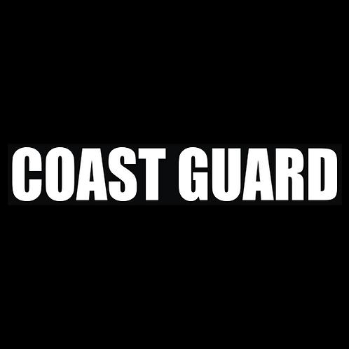 Coast Guard - Wording (CG33)
